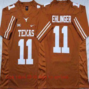 Texas Longhorns #11 Sam Ehlinger Jersey
